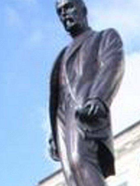 Socha Tomáše Garrigua Masaryka