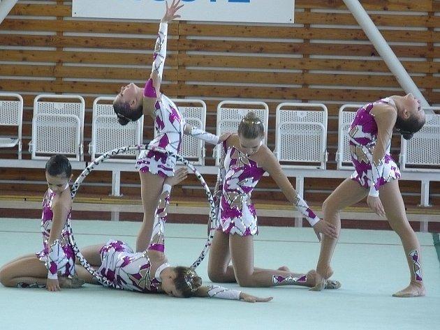 Gymnastky chtějí další výhry