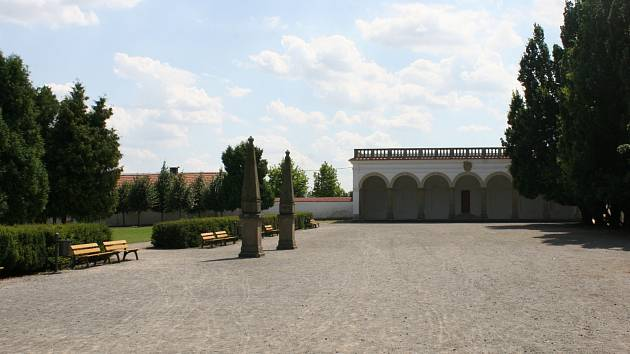Lodžie vyškovské zámecké zahrady - ilustrační foto.