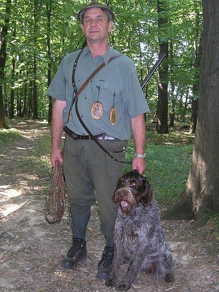 Vítězná Fita s majitelem.