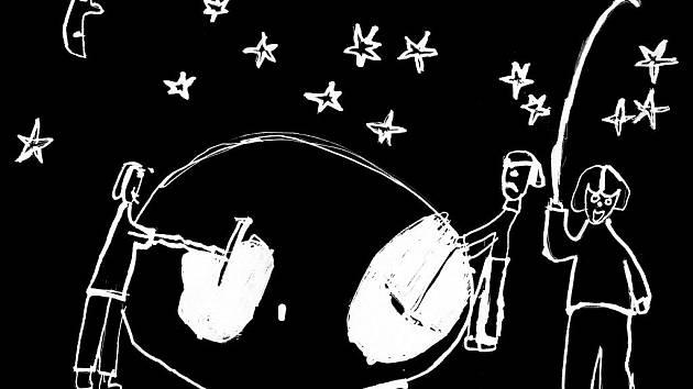 Staré pověsti z Drahanské vrchoviny ilustrovali žáci Základních škol Drnovice, Nemojany, Podomí a Mateřské školy Drnovice. Tento obrázek se vztahuje k příběhu Poklad na Dalekých u Ruprechtova.