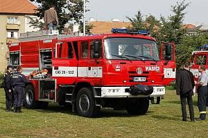 Vyškovští dobrovolní hasiči mají novů vůz.