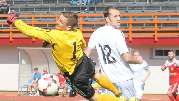 V utkání Moravskoslezské fotbalové ligy prohrál MFK Vyškov doma s FC Velké Meziříčí 0:3.