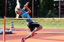 Atletický talent Filip Navrátil.