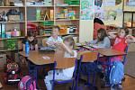 Modrá třída Základní školy Prameny Rousínov