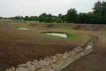 Oblast bývalého koupaliště v Křenovicích. Revitalizace areálu je úzce spjatá s projektem nedaleké obnovy mlýnského náhonu.