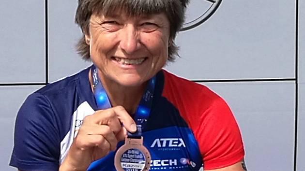 Triatlonitka Dana Hyláková.