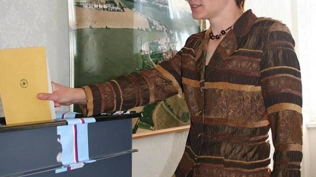 Volby na Vyškovsku - Rybníček