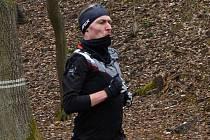 Druhou Nemojskou osmičku běžců AK Drnovice vyhráli Anežka Langhammerová a Lukáš Soural (na snímku).