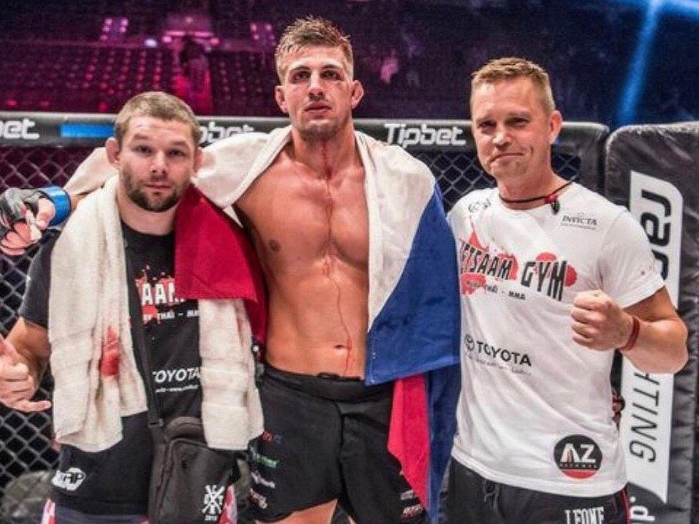 Bojovník MMA Jan Gottvald z Vyškova.