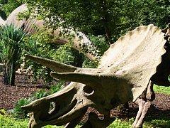 ILUSTRAČNÍ FOTO: Vyškovský dinopark.