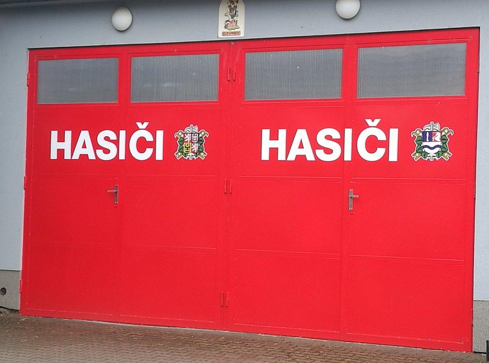 Základna dobrovolných hasičů.