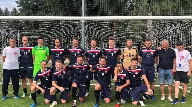 Fotbalisté FK Pačlavice-Dětkovice, účastník I. A třídy skupiny B.