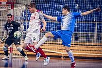 Futsalista prvoligového Helasu Brno Milan Svoboda začínal s fotbalem v Rousínově.