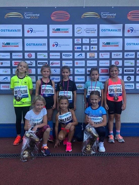Sedm vyškovských Orlíků s eprobojovalo do mezinárodního česko-slovenského semifinále Čokoládové tretry do Ostravy.