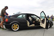 Na dvoudenní Tuning motor party na vyškovském letošti zavítaly zhruba tři tisícovky fanoušků upravených aut.
