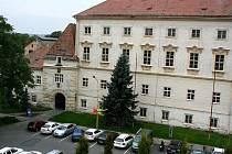 Budova vyškovského zámku potřebuje podle vedení Vyškova opravy.
