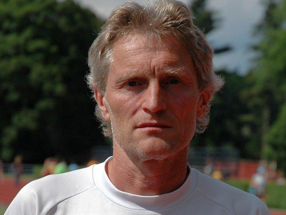 Zdeněk Smutný, předseda a hlavní trenér Atletického klubu Drnovice.