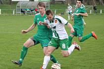 V utkání krajského přeboru fotbalistů prohrál Tatran Rousínov s Dostou Bystrc 0:1.
