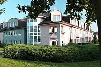 Slavkovský dům s pečovatelskou službou v roce 2016.