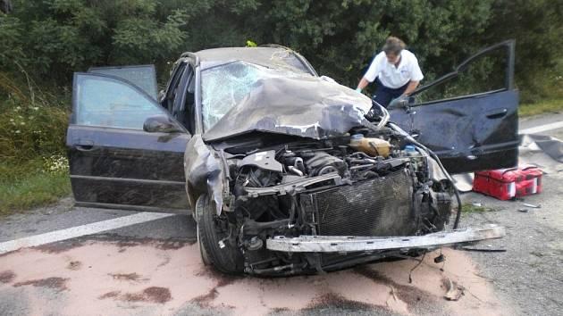 Smrtelná dopravní nehoda u Bučovic.
