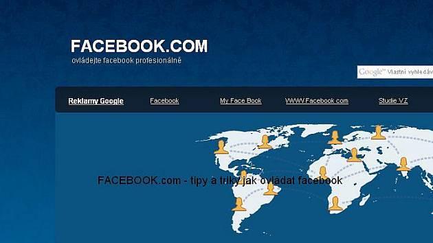 Facebook. Ilustrační foto