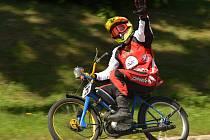 Hrdinou devatenáctého ročníku Moped Rallye Rychtářov byl domácí jezdec Josef Kanka.