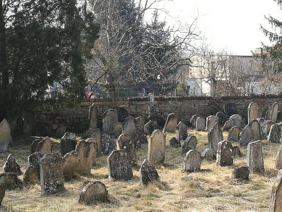 Židovský hřbitov v Rousínově.