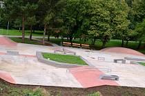 Nový skatepark potěší sportovce ve Vyškově