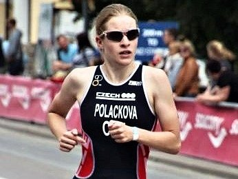 Triatlonistka Pavlína Poláčková.