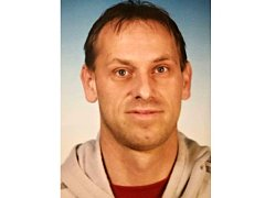 Trenér fotbalistů Bučovic Petr Gamba.
