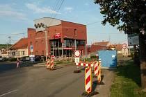 Uzavírka silnice I50 ve Vicemilicích