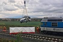 Nehoda na železničním přejezdu na Vyškovsku skončila tragicky.