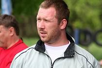 Trenér ragbistů JIMI RC Vyškov Martin Hudák.