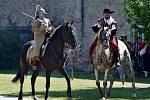Bojovou ukázkou si Bučovičtí na Městských slavnostech každoročně připomínají rok 1645, kdy ubránili zámek před útokem Švédů, kteří pustošili město.