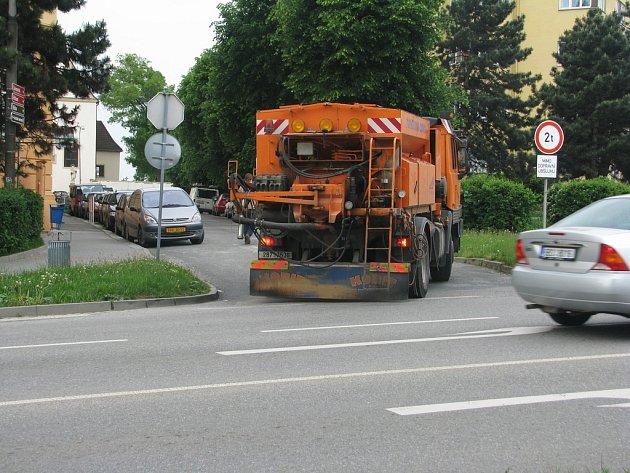 Komplikované situace vznikají u přechodu ve Hřbitovní ulici ve Vyškově.