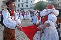 Hanácký den ve Vyškově.