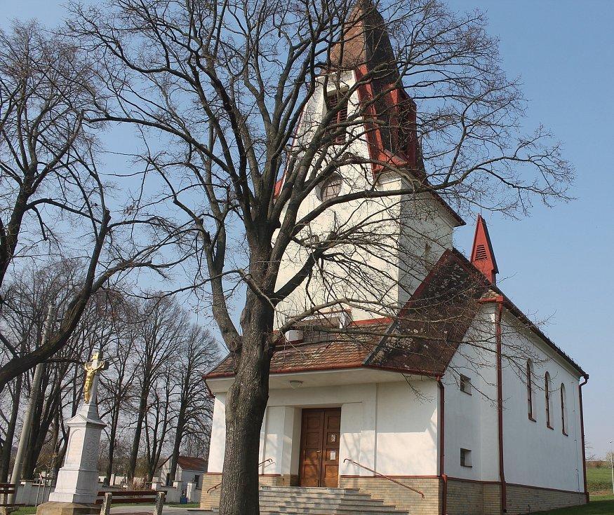 Filiální kostel svatého Václava.