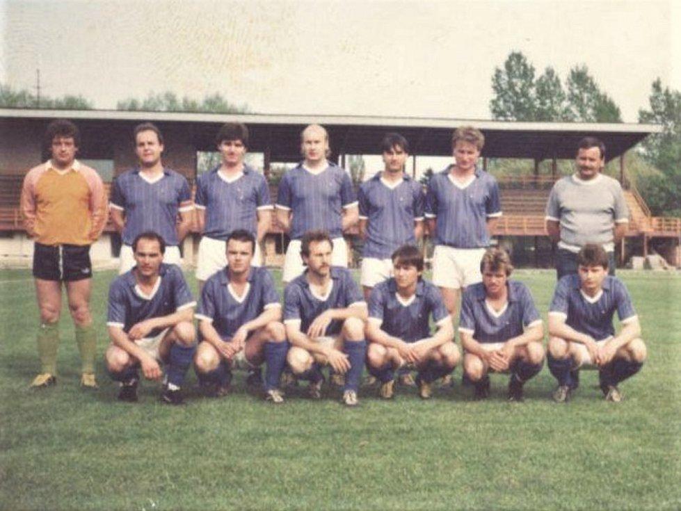 1986 - 1987, 3. místo v OP.