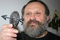 Oldřich Bartošek s kovovým PF 2010.