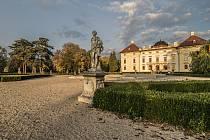 Zámecký park. Ilustrační foto