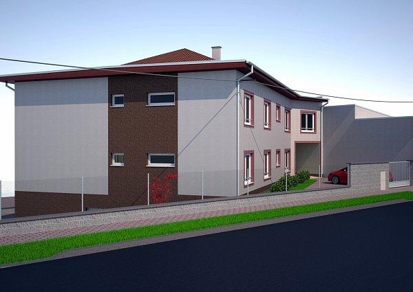 Součástí projektové dokumentace knové budově chráněného bydlení je ivizualizace, která napovídá, jak bude místo už příští rok vypadat.
