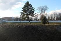 Druhý areál po bývalých jeslích ve Vyškově se nachází na Palánku. Ty už sice šly k zemi, plocha ovšem na své využití dál čeká.