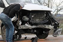 Nehoda u Tučap si vyžádala dvě zranění.