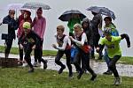 Déšť a chlad provázely letošní ročník nejradičnějšího přespolního běhu na Vyškovsku Běhu Pístovickou riviérou.