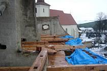 Oprava Římskokatolického farního kostela sv. Barbory