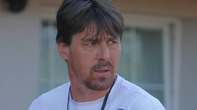 Jan Trousil, trenér fotbalistů MFK Vyškov.