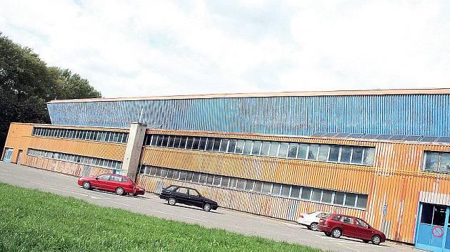 Zimní stadion ve Vyškově.