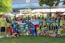 Cheerleadingový tým Glitter Stars ze Slavkova u Brna.
