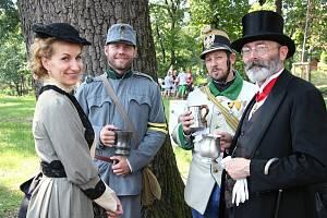 Obnovený lesopark si mohli o druhém zářijovém víkendu prohlédnout lidé v Bučovicích.